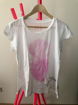 T-Shirt von Rockstars & Angels mit Federprint