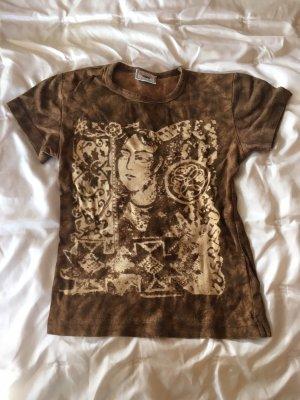 T-Shirt von Rocky in braun Größe XS (146-152)