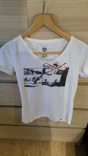 T-Shirt von Roxy mit V-Ausschnitt