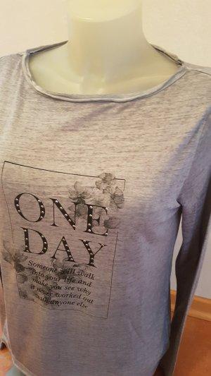 s.Oliver Camisa gris antracita