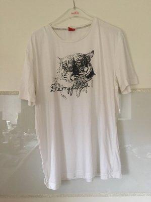 T-Shirt von S.Oliver in weiß Größe XL
