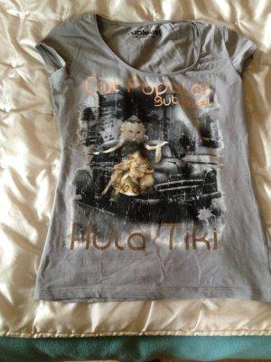 T-Shirt von Sublevel in grau Größe S