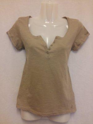 T-Shirt von Tally Weijl Gr. S beige