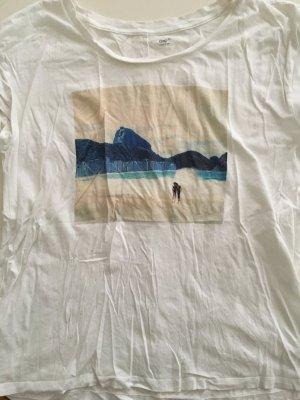T-Shirt von The GAP mit Motiv Rio Strand Grösse XL