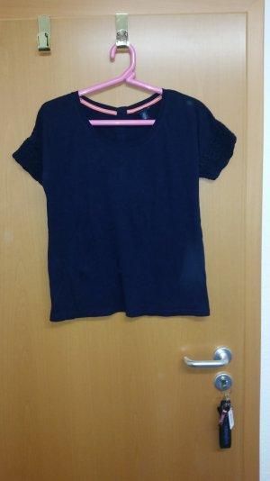 T-Shirt von Tommy Hilfiger Gr. S dunkelblau