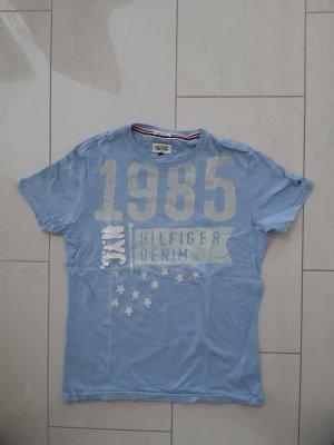 T-Shirt von Tommy Hilfiger Gr. S in hell blau