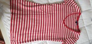Tommy Hilfiger T-shirt rayé blanc-rouge