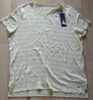 Tommy Hilfiger Camiseta amarillo pálido Lino
