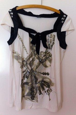 T-Shirt von Tuzzi, kurze, angeschnittene Arme