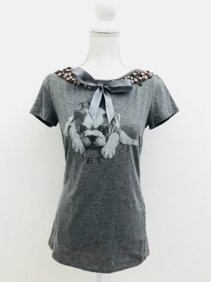 T Shirt von Twin Set Simona Barbieri, Gr. L, grau