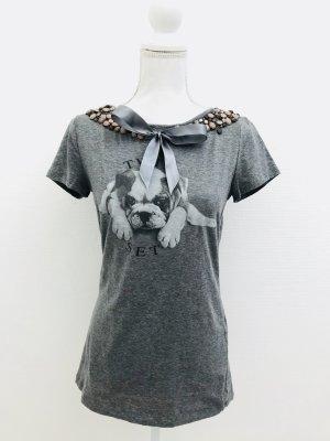 T Shirt von Twin Set Simona Barbieri, Gr. L, grau