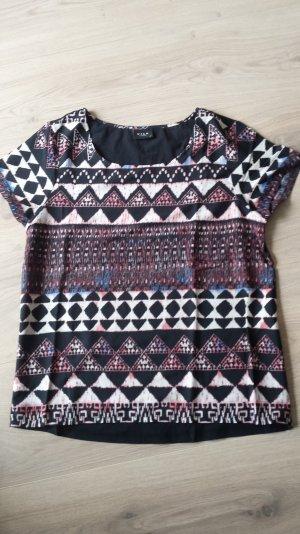 T-Shirt von Vila Gr M Schwarz gemustert