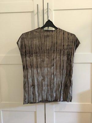 T-Shirt von Zara aus Samt