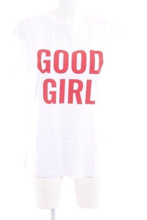 T-Shirt weiß Casual-Look