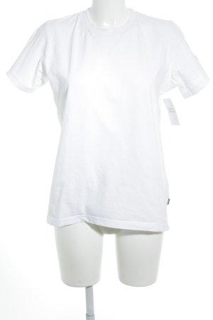 Camiseta blanco look casual