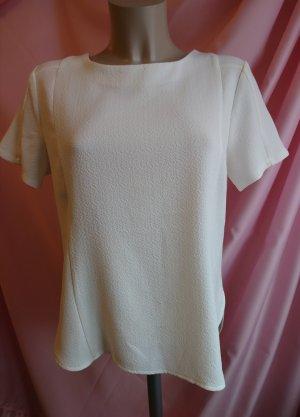 T-Shirt weiß gerader Schnitt