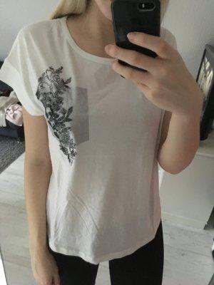 T-Shirt weiß Glitzer