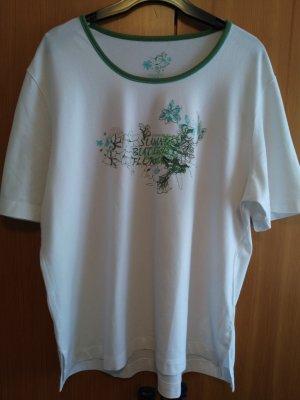 Via Appia Camiseta blanco-verde