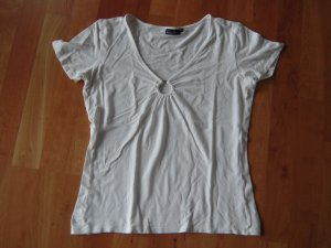 T-Shirt weiß V-Ausschnitt