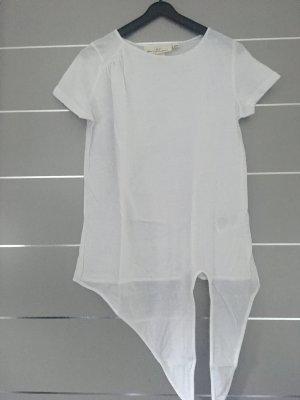 T-Shirt weiß zum Knoten Gr. XS