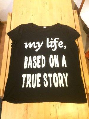 T-Shirt , XL , schwarz