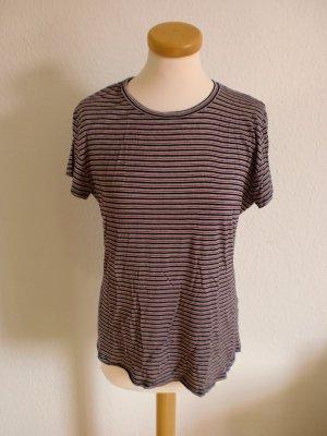 T-Shirt Zara retro Streifen 60er 70er