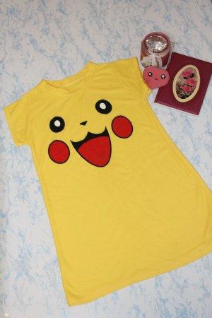 Robe t-shirt multicolore