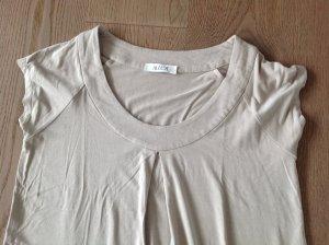 T-Shirtkleid von Allude in beige