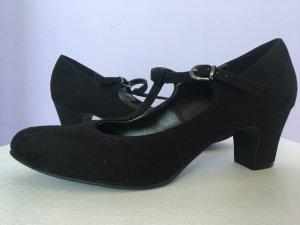 Graceland Zapatos de tacón con barra en T negro