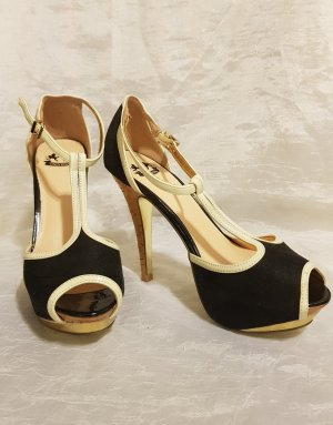 Only Pink T-Strap Pumps multicolored