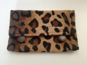 Tabakbeutel Tabak Tasche Portemonnaie Kleine Tasche Leoparden Muster