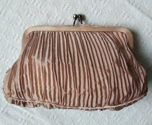 Noa Noa Borsa clutch rosa antico-argento Tessuto misto