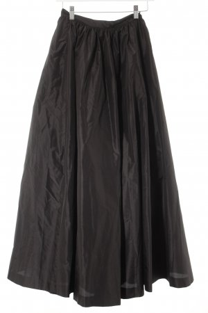H&M Taftrock schwarz Elegant