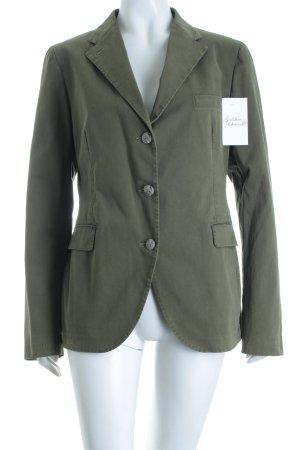 Tagliatore Kurz-Blazer waldgrün klassischer Stil