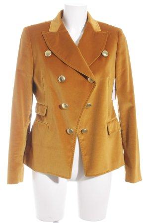 Tagliatore Lange blazer licht Oranje zakelijke stijl