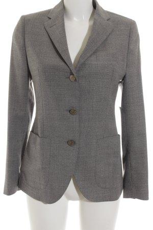 Tagliatore Woll-Blazer grau-hellgrau meliert klassischer Stil