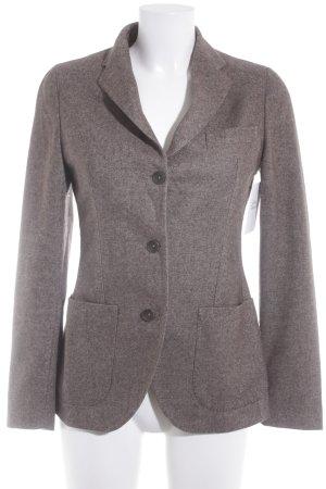 Tagliatore Woll-Blazer graubraun meliert klassischer Stil
