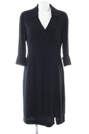 Tahari Abito blusa camicia nero elegante