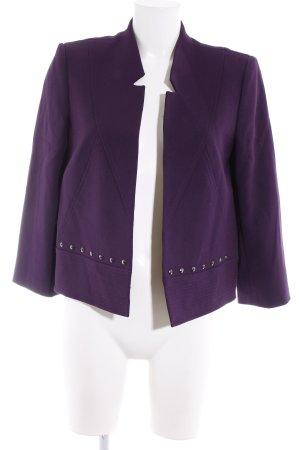 Tahari Jerseyblazer lila-dunkelviolett Elegant