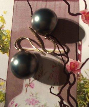 Tahiti Perlen Ohrringe - Einzelstück