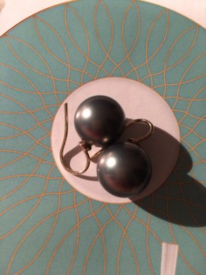 Tahiti Perlen Ohrringe mit exclusivem Schmucksäckchen