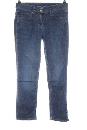 Taifun 7/8-jeans blauw casual uitstraling