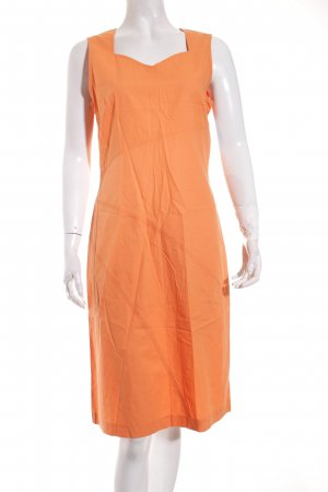 Taifun A-Linien Kleid hellorange Casual-Look
