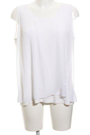 Taifun ärmellose Bluse weiß Elegant