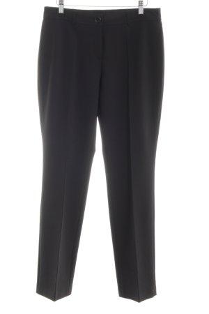 Taifun Pantalone da abito nero stile professionale