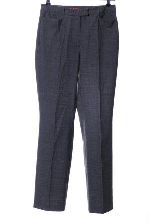 Taifun Suit Trouser light grey flecked business style
