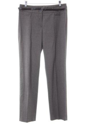 Taifun Pantalone da abito marrone chiaro stile professionale