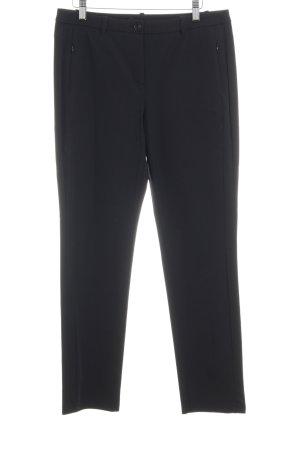 Taifun Pantalon de costume noir style d'affaires