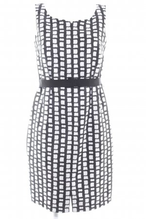 Taifun Bleistiftkleid schwarz-weiß abstraktes Muster Elegant