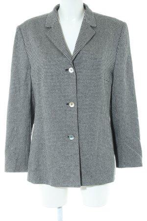 Taifun Boyfriend Blazer silver-colored-white check pattern business style
